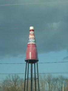 Collinsville watertower