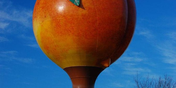 Gaffney Peach water tower | StrucCore