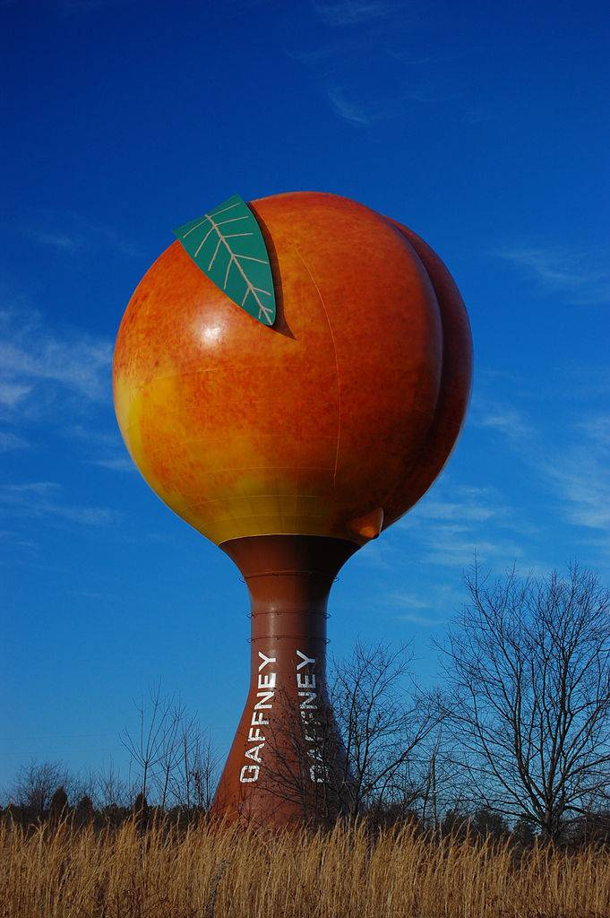 Gaffney_Peach_water_tower