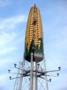 corn water tower Minnesota
